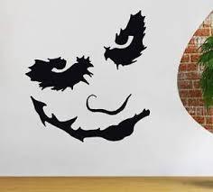 Batman Home Decor Joker Batman Dark Knight Decal Wall Sticker Art Home Decor Vinyl