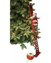 mr christmas spectacular deal on mr christmas climbing santa figurine