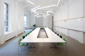 Oak Boardroom Table Modern Conference Table Ambience Doré