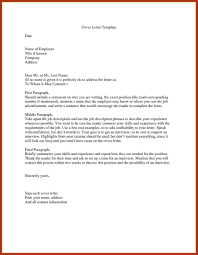 How To Name A Cover Letter Writing A Cover Letter Without A Contact Name Image Collections