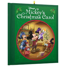 disney mickey mouse mickey s carol ornament keepsake