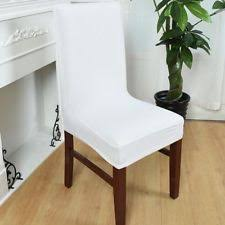 Dining Room Chairs Seat Covers Dining Room Chair Slipcovers Ebay