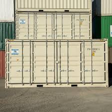 20ft side door new one way trip shipping containers for sale