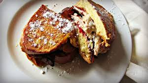 thanksgiving bacon thanksgiving leftovers french toast sandwich with espresso