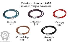 leather bracelet price images Pandora summer 2013 collection prices and live photos charms addict jpg