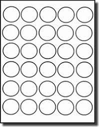 round or circular labels 1 3 8