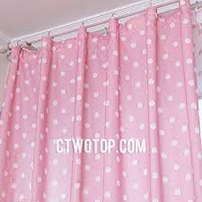 Pink Polka Dot Curtains Inexpensive Pink And Beige Toile Bedroom Polka Dot Curtains