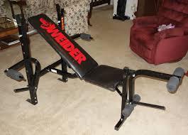 Weider Pro 125 Bench Weider Weights Ebay