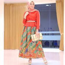 gambar model baju batik modern model baju batik modern untuk pesta remaja