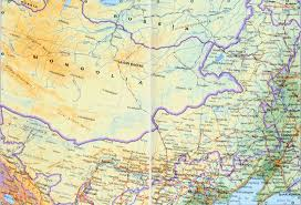 Map China Inner Mongolia Map China Travel Map