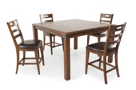 pulaski heartland falls five piece gathering pub dining set