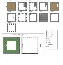 mansion blueprints good minecraft house floor plans