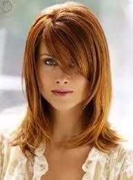 haircut layers with side bangs long bob haircut with layers and