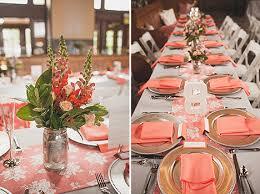 Coral Wedding Centerpiece Ideas by Real Boise Wedding Jenny U0026 Patrick