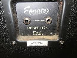 egnater rebel 112x cabinet used egnater rebel 112x cabinet springfield music reverb