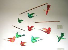 Hanging Paper Bird Decorations 47 Best Bird Mobile Images On Pinterest Bird Mobile Hanging