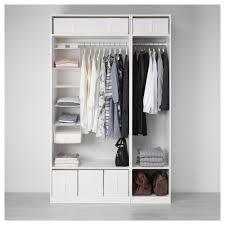 pax wardrobe white vikedal mirror glass 150x60x236 cm ikea