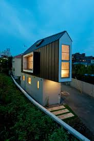 exotic black wall japan small house design can be combined with