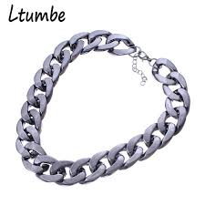 chain link necklace chunky images Ltumbe hot christmas gifts chunky plastic chain necklace for men jpg