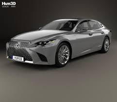 lexus car models lexus ls xf50 f sport 2018 3d model hum3d