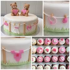 baby shower cake twin girls my cakes pinterest twin girls