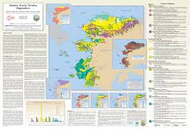 Alaska Map by Arctic Geoecological Atlas Alaska Arctic Tundra Vegetation Map