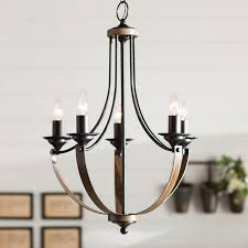 Candle Style Chandelier Stylish Candle Style Chandelier Laurel Foundry Modern Farmhouse