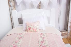 bedding set girls shabby chic bedding presence pastel pink