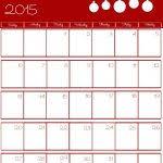 printable calendar 2018 december 2015 christmas calendar