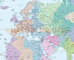 Indiana Time Zone Map digital vector map gall projection world time zones map uk