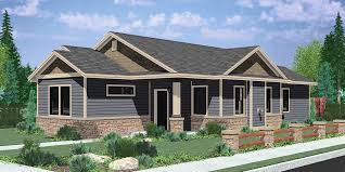 rear view house plans one story house plans with lots of windows new front view house