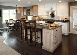 kitchen bars ideas rustic varnished walnut wood kitchen bar stools mixed marble top