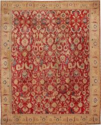 Indian Area Rugs Antique Oriental Agra Carpet 44602 By Nazmiyal