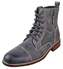 s lace up combat boots size 11 amazon com ferro aldo mfa 808561 brown mens lace up
