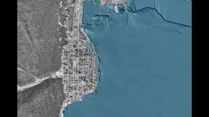 Seward Alaska Map by Tsunami In Seward Alaska 1964 Youtube