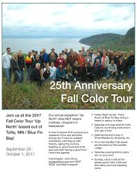 2017 north shore fall color tour nord stern region
