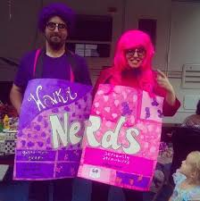 Purple Halloween Costume Ideas Couples Halloween Costume Ideas Prove Two Heads Are Better Than