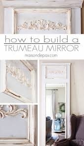 How To Make A Mirrored Nightstand Diy Best 25 Mirror Makeover Ideas On Pinterest Framed Mirrors