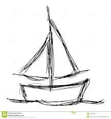 drawn sailboat basic pencil and in color drawn sailboat basic