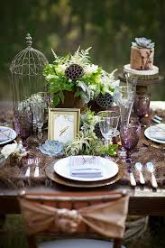Wedding Table Decorations Ideas 35 Dreamy Woodland Wedding Table Décor Ideas Weddingomania
