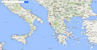 Greece On A Map Ionian Sea On A Map Images