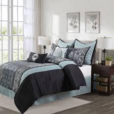 Black And Beige Comforter Sets Bedroom Magnificent Marshalls Comforter Sets And Curtains Target
