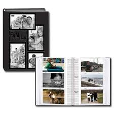 pioneer albums pioneer 4 x 6 in collage frame embossed photo album 300 photos