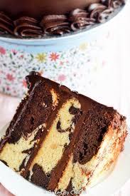 chocolate marble fudge cake u2013 honest cooking