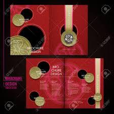 fancy brochure templates half fold fancy restaurant template of brochure design royalty