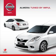 etcm offers impul tuned nissan nissan sunny gets impul body kit in malaysia