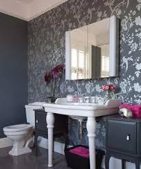 bathroom wallpaper designs 24 fabulous wallpaper designs real simple