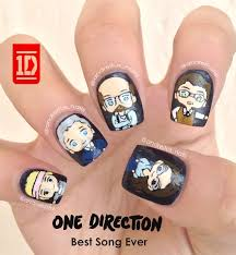 tutorial nail art one direction incredible one direction nail art and picture of ideas s trend nail