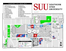 Utah State University Campus Map 2017 2018 Parking Lot Map Parking Services Suu