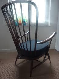 Ercol Windsor Rocking Chair Ercol Dark Blue Easy Chair Lucian Ercolani 1960s Design Market
